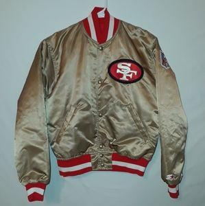 Vtg San Francisco 49er's Starter Jacket PRO LINE